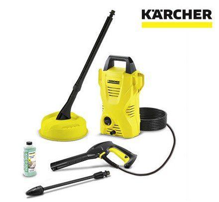 Kärcher K 2 Compact Hochdruckreiniger inkl. Oberflächenreiniger für 79,95€ (statt 93€)