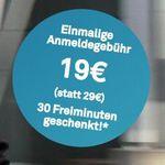 DriveNow Anmeldung nur 19€ (statt 29€) + 30 Freiminuten