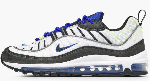 Schnell  Nike Air Max 98 Racer Blue Volt für 89 488ac5caa