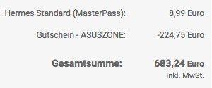 Knaller! Asus Notebook Sale mit bis zu 25% Rabatt   z.B. Asus VivoBook Max für 683,24€ (statt 949€)