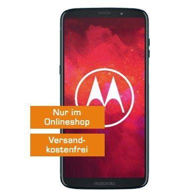 Moto Z3 Play für 69€ + o2 Allnet Flat mit 4GB LTE für 14,99€mtl.