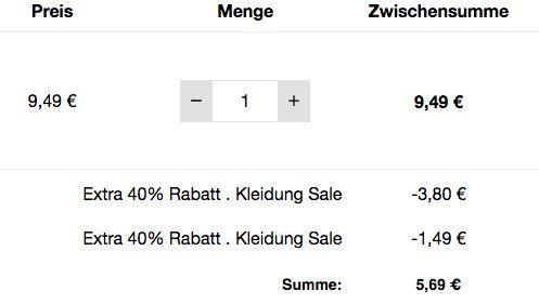 Geek Kleidung mit bis zu 40% Rabatt bei Zavvi   z.B. Heisenberg T Shirt schon ab 5,69€
