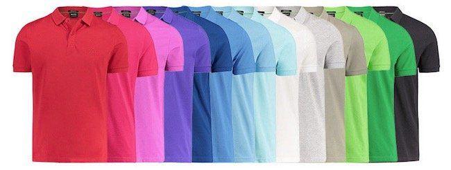BOSS Herren Poloshirt Piro Regular Fit für je 46,37€ (statt 60€)
