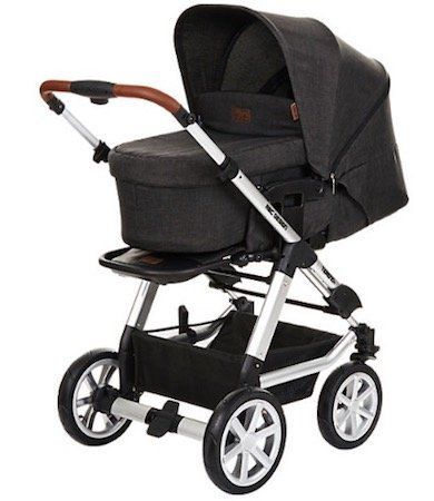 ABC Design Tereno 4 Kombi Kinderwagen (2018) in Piano für 362,94€ (statt 499€)
