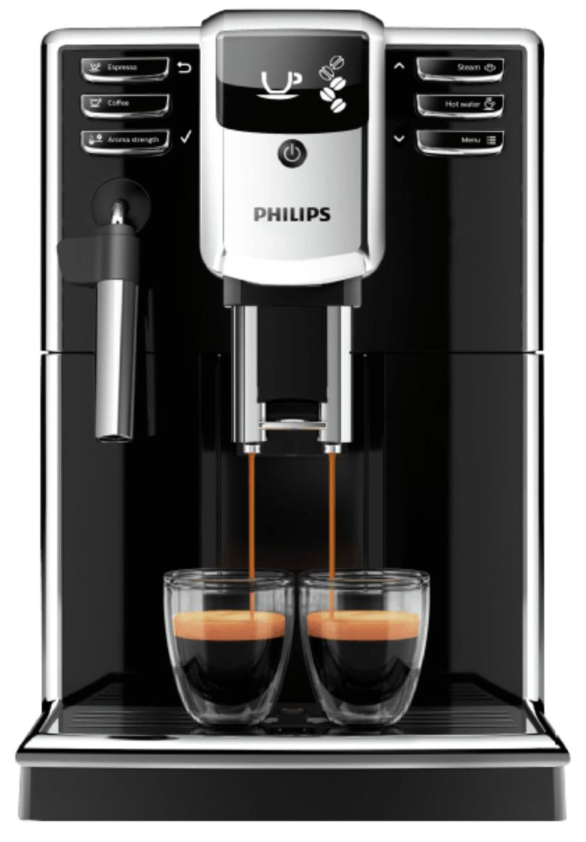 PHILIPS EP5310 Kaffeevollautomat in Pianoschwarz für 289€ (statt 324€)