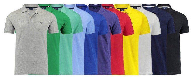TOP! Gant Herren Poloshirt für 39€ (statt 54€)   2 Stück nur 66€ (nur 33€ pro Stück)