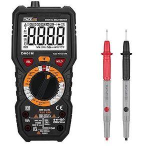 Tacklife DM01M Advanced Multimeter mit Hintergrundbeleuchtung für 18,99€ (statt 27€)