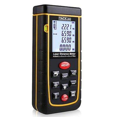 Tacklife A LDM01 40 Advanced Laser Entfernungsmesser für 21,98€ (statt 31€)
