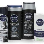 Nivea Geschenk-Set Active Clean mit Handtuch für 9,99€ (statt 15€)