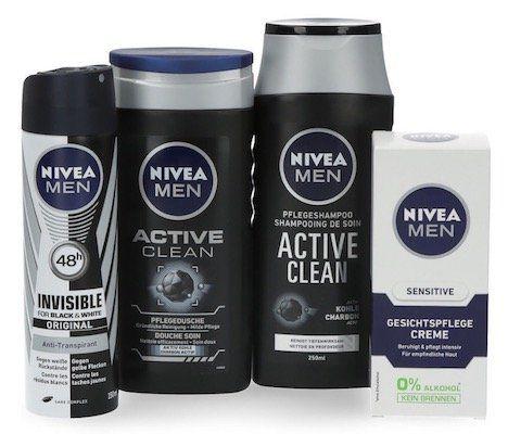 Nivea Geschenk Set Active Clean mit Handtuch für 9,99€ (statt 15€)