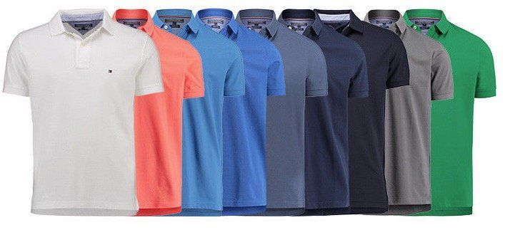Tommy Hilfiger Herren Poloshirts in Regular Fit für je 49,90€