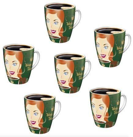6er Pack JACOBS Ritzenhoff Kaffeebecher für 19,90€ (statt 25€)