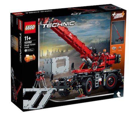 Lego Technic 42082 Geländegängiger Kranwagen für 144,90€ (statt 183€)