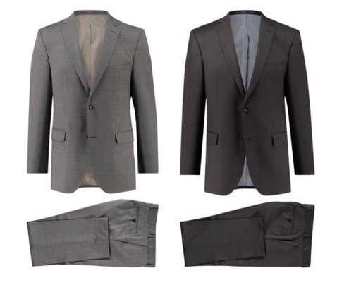 Carl Gross Herren Anzug Shane Modern Fit für 99,90€