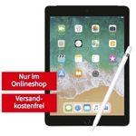 Knaller! Apple iPad 2018 mit 32GB + Apple Pencil für 79€ + Telekom LTE Datentarif mit 10GB für 19,99€ mtl.