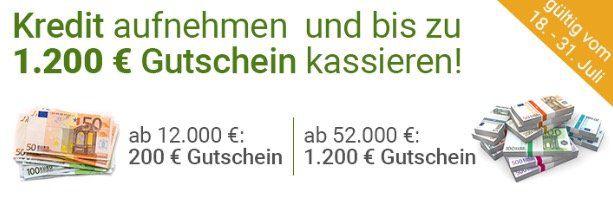 Smava Kredit mit bis zu effektiv 699€ Gewinn   nur bei 52.000€ über 12 Monate