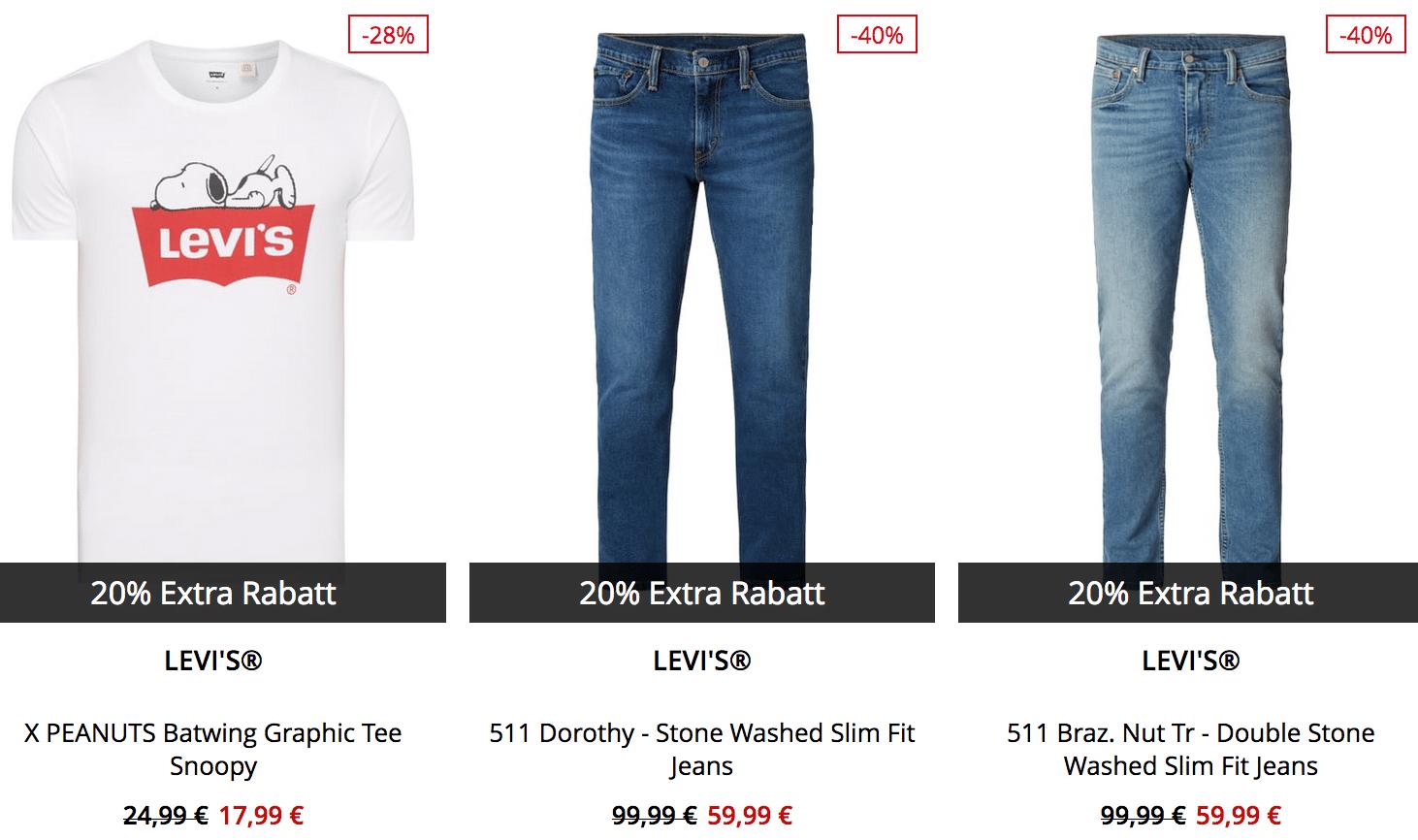 Tipp! Peek & Cloppenburg* Final 50% Sale mit 20% Extra Rabatt auf reduzierte Einzelteile