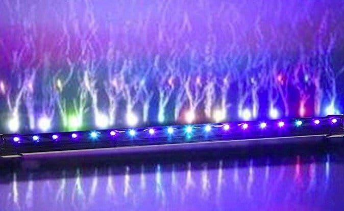 Louvra LED Aquarium Beleuchtung (47cm) für 23,89€ (statt 48€)