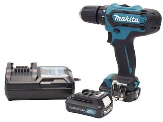 Makita DF331DWAE 10,8 V Akku Bohrschrauber inkl. 2 Akkus und Koffer für 109,99€ (statt 144€)