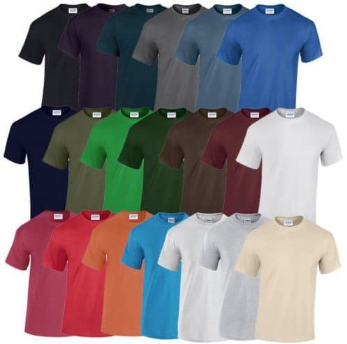 Vorbei! 2 Gildan Heavy Cotton T Shirts komplett kostenlos (statt 10€)