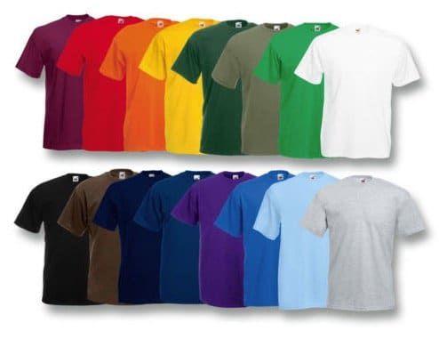 Vorbei! 2er Pack Fruit of the Loom Herren T Shirts komplett gratis (statt 10€)