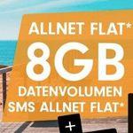 Vodafone Allnet-Flat von Otelo mit 8GB LTE für eff. 16,99€ mtl. + 25€ Amazon Gutschein