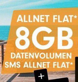 Vodafone Allnet Flat von Otelo mit 8GB LTE für eff. 16,99€ mtl. + 25€ Amazon Gutschein
