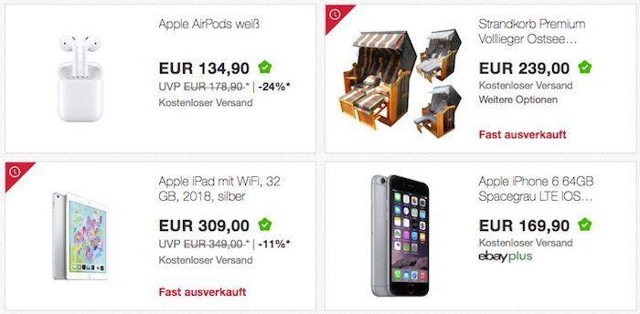 eBay: 10% auf ALLES (außer Münzen) in der App bis 21Uhr!