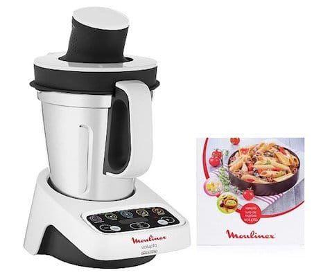 Moulinex Volupta Küchenmaschine mit Kochfunktion inkl. 50 Rezepten ab 195,43€ (statt 250€)