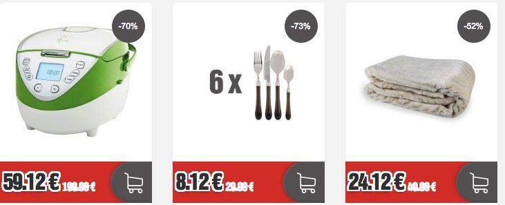 Blowout Friday bei TOP12 mit bis zu 90% Rabatt   z.B. Tefal Easy Fruit ZE585D38 Saftpresse für 69,12€ (statt 97€)