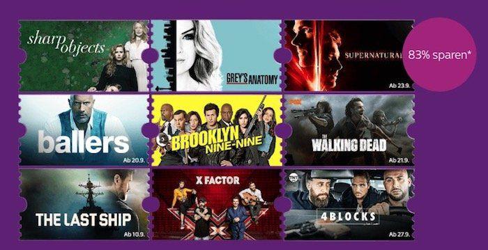 3 Monate Sky Entertainment Ticket für einmalig 4,99€ statt 29,97€   nur Neukunden
