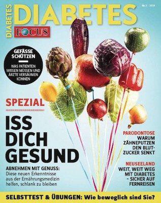 4 Ausgaben Focus Diabetes für 15,60€ + 10€ Amazon Gutschein