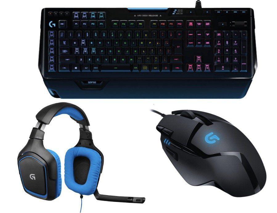 Logitech G402 Gaming Maus, G430 Gaming Headset und G910 Gaming Tastatur für 149€ (statt 199€)