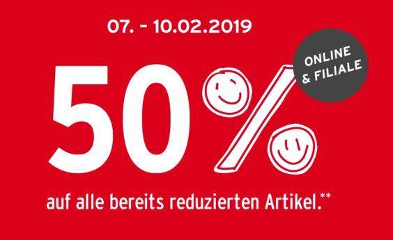 Ernstings Family mit 50% Extra Rabatt im Sale