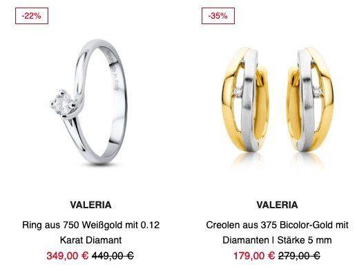 Valmano Outlet mit 20% Gutschein auf Schmuck und Uhren   z.B. Citizen Solaruhr Eco Drive Elegant für 127,20€ (statt 199€)