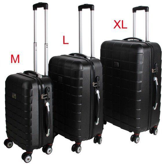 Monzana 3tlg. Koffer Set für 69,95€ (statt 88€)   eBay Plus nur 62,95€!