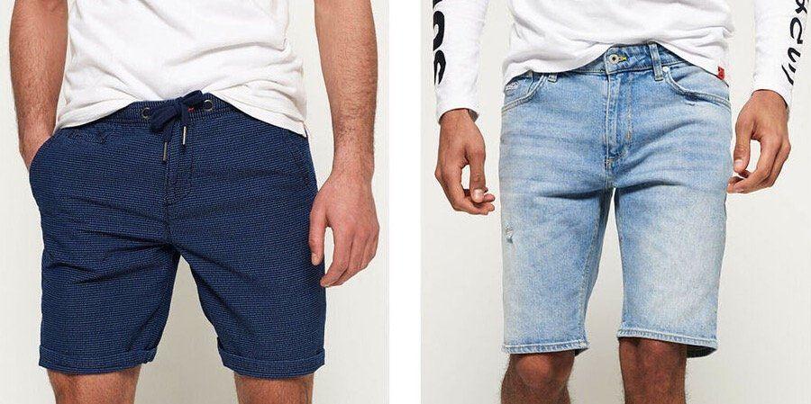 Superdry Shorts für Damen und Herren   zahlreiche Modelle für je nur 23,95€