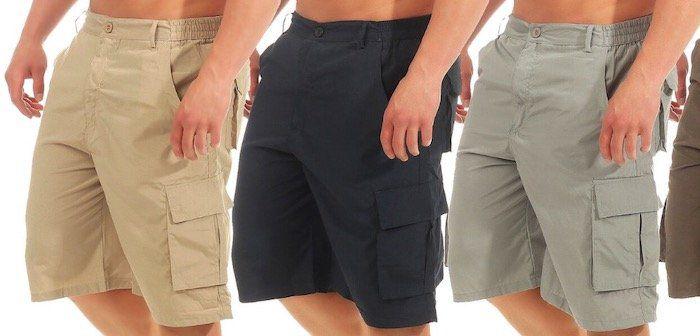 Azuonda Cargo Shorts bis 3XL für je 9,90€