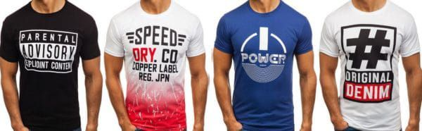 BOLF Herren T Shirts 52 Modelle bis 2XL für je 7,955€ (statt 13€)