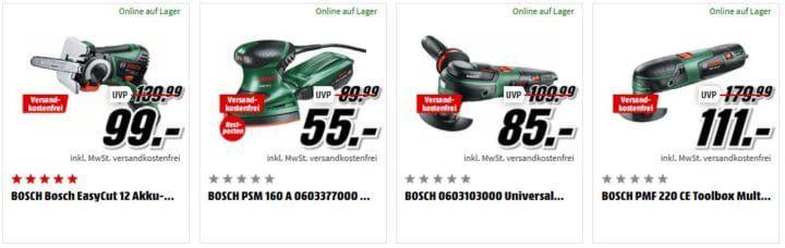 Media Markt Bosch Tiefpreisspätschicht: günstige Garten  u. Werkzeuge, Haushalt & Bad Artikel