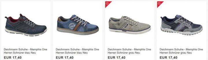 Deichmann eBay Sale mit Rabatten bis 50%   günstige Schuhe für Damen, Kinder und Herren ab 9,95€