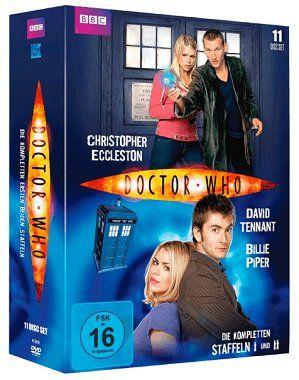 Doctor Who   Die kompletten Staffeln 1&2 (DVD) für 33€ (statt 51€)