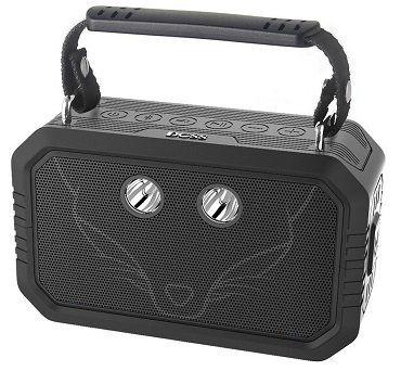 DOSS Traveler wasserdichter Bluetooth Lautsprecher in grün oder schwarz für 29,99€ (statt 60€)