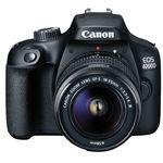 Canon EOS 4000D + 18-55mm Objektiv + Tasche + Speicherkarte für 199€ (statt 281€)