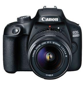 Canon EOS 4000D + 18 55mm Objektiv   Einsteiger DSLR + Zubehör für 249€ (statt 346€) + 60€ Gutschein