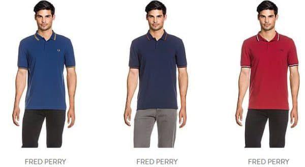 Fred Perry Herren Polos Shirts mit bis zu 30% Rabatt   viele Polos ab 59,99€