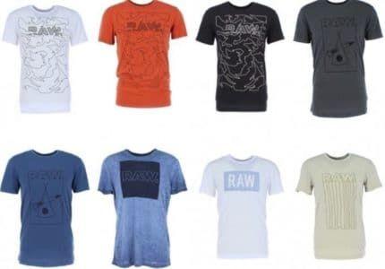 G Star Crostan und andere Herren T Shirts für je 19,99€