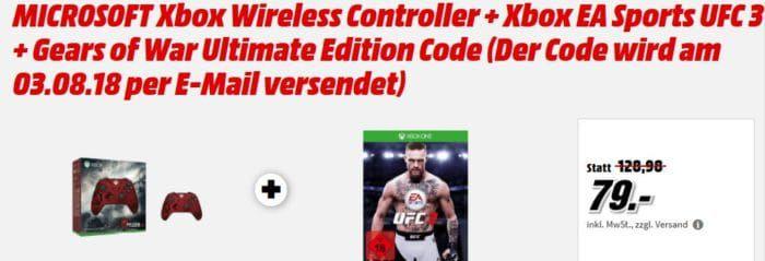 Xbox Wireless Controller Ultimate Edition + Xbox EA Sports UFC 3 für 79€ (statt 101€) uvm. im Media Markt Dienstag Sale