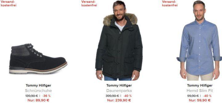 Tommy Hilfiger Sale mit bis 60% Rabatt + 10% Gutschein + VSK frei bis Mitternacht