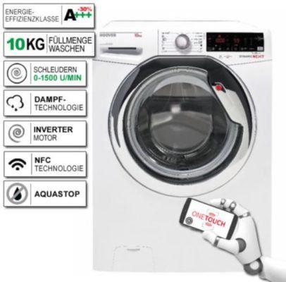 HOOVER DXOAG510AHC Dynamic Next   10kg Waschmaschine mit A+++ für nur 279,99€ (statt 529€)